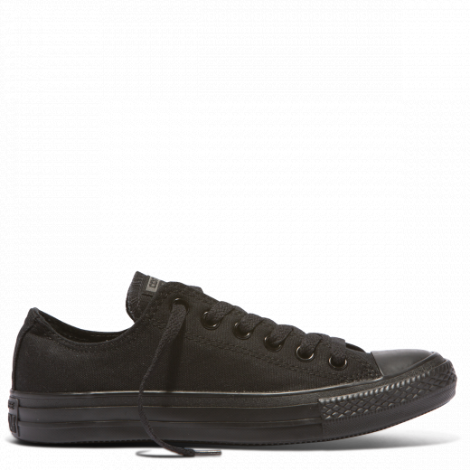 Converse Kids Chuck Taylor Low Top - Black Mono-CONVERSE-Anchor Chief