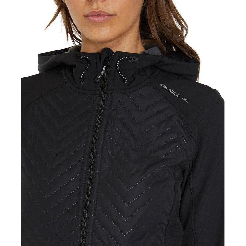 O'neill PW Baffle Mix Softshell Jacket - Blackout-ONEILL-Anchor Chief