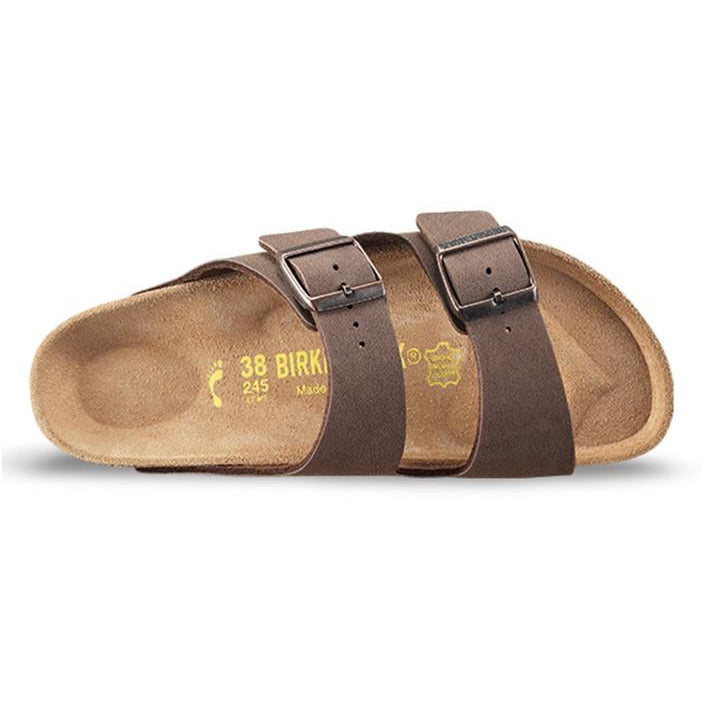 Arizona Mocca Regular Soft Foot Bed-BIRKENSTOCK-Anchor Chief