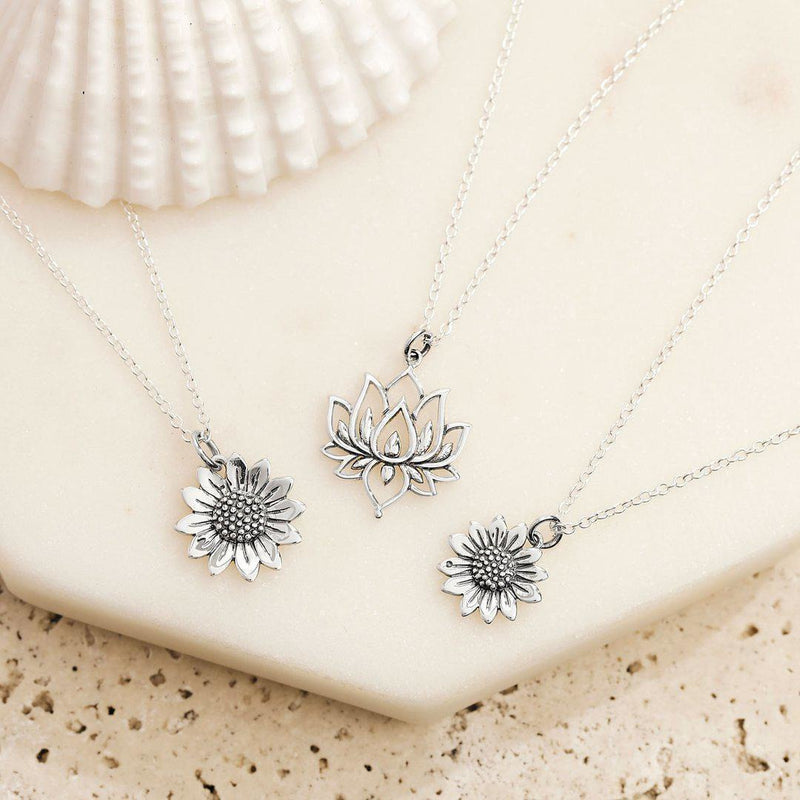 Midsummer Star Blossoming Sunflower Necklace-MIDSUMMER STAR-Anchor Chief