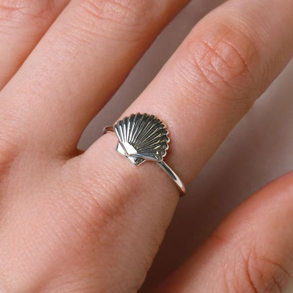Midsummer Star Seashell Ring-MIDSUMMER STAR-Anchor Chief