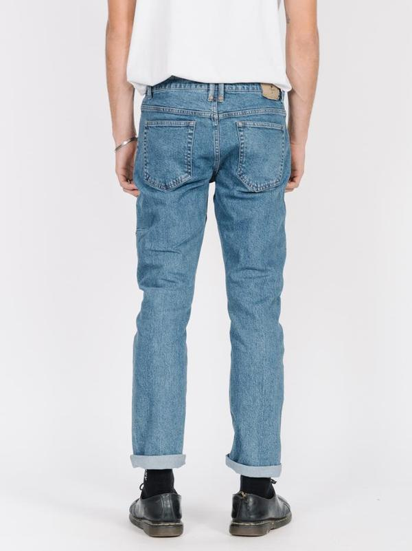 Thrills Bones Denim Jean - Rinsed Blues