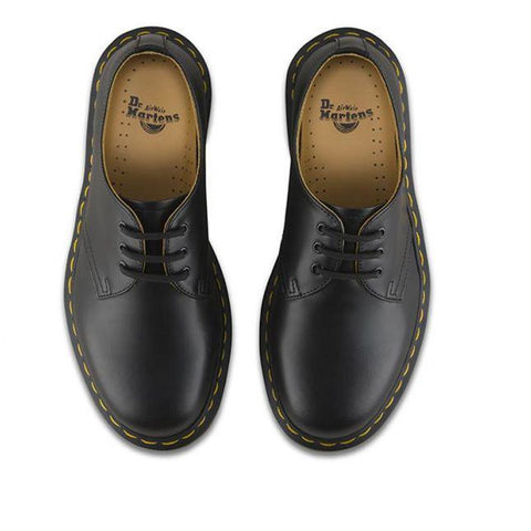 Dr. Martens 1461 3 Eye Shoe - Black Smooth-DR MARTENS-Anchor Chief