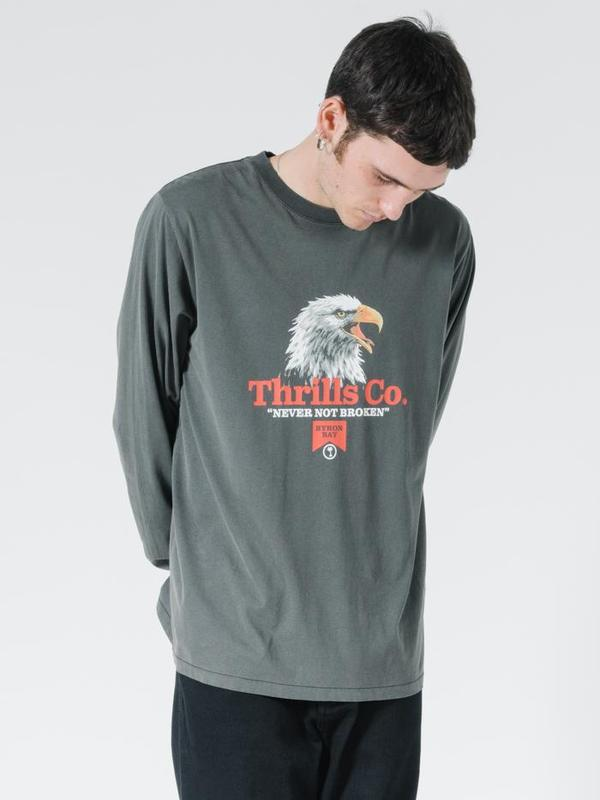 Thrills Talla Merch Fit LS Tee - Merch Black