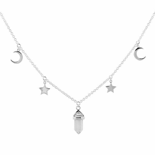 Midsummer Star Crystal Galaxy Choker-MIDSUMMER STAR-Anchor Chief