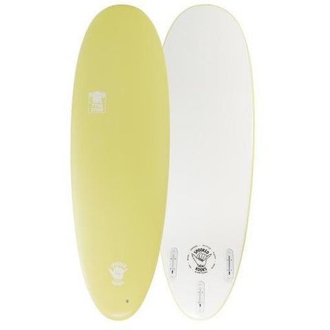 "Spooked Kooks Tomby 5'6"" x 21 1/4"" x 2 3/8"" (33L) - Yellow-SPOOKED KOOKS-Anchor Chief"