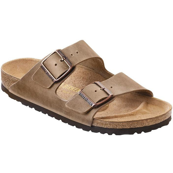 Birkenstock Arizona NU Oiled Tobacco Brown Regular-BIRKENSTOCK-Anchor Chief