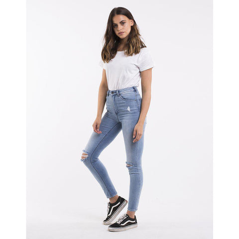 Image of Silent Theory The Vice High Waist Skinny Jean-LADIES SILENT THEORY-Anchor Chief