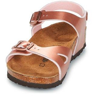 Image of Birkenstock Rop Kids Soft Metallic Rose Narrow-BIRKENSTOCK-Anchor Chief