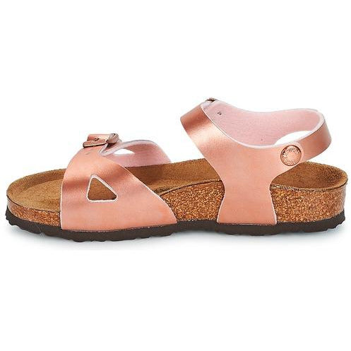 Birkenstock Rop Kids Soft Metallic Rose Narrow-BIRKENSTOCK-Anchor Chief