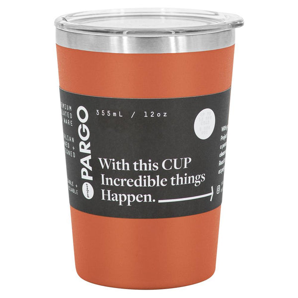 Project Pargo 12oz Insulated Coffee Cup