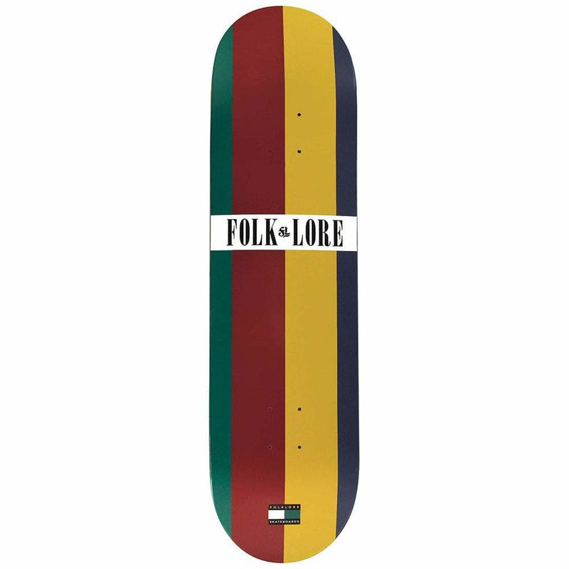 Folklore Warm Press Skate Deck - Tommy 8.5-FOLKLORE-Anchor Chief
