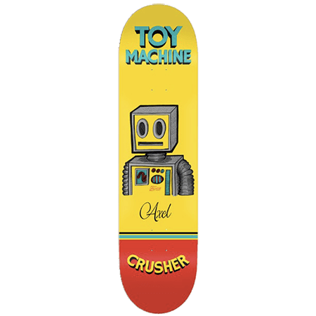 Toy Machine Pen & Ink Deck - Axel Cruysberghs 8.0-TOY MACHINE-Anchor Chief