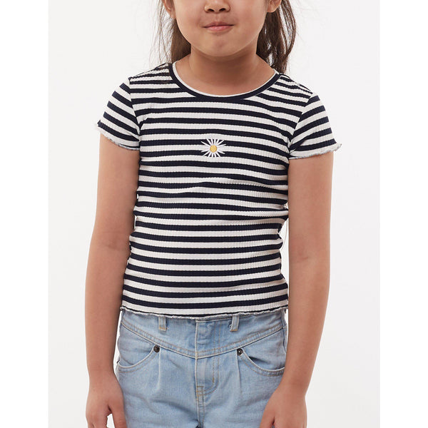 Eve's Sister Daisy Rib Tee-EVE'S SISTER-Anchor Chief