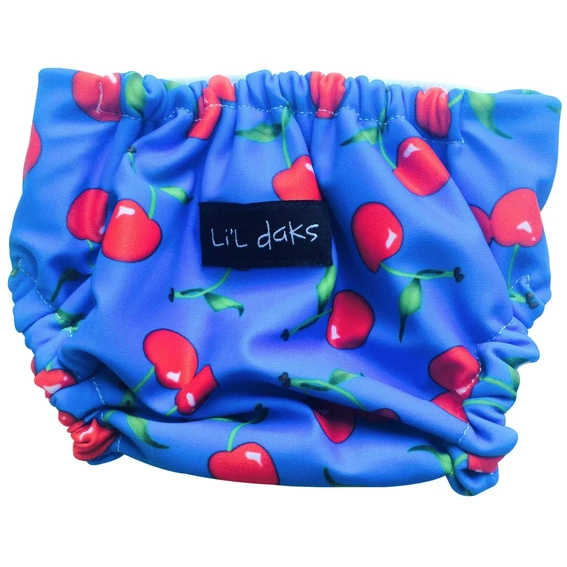 Li'l Daks Cherries Swim Nappy - Small-LI'L DAKS-Anchor Chief