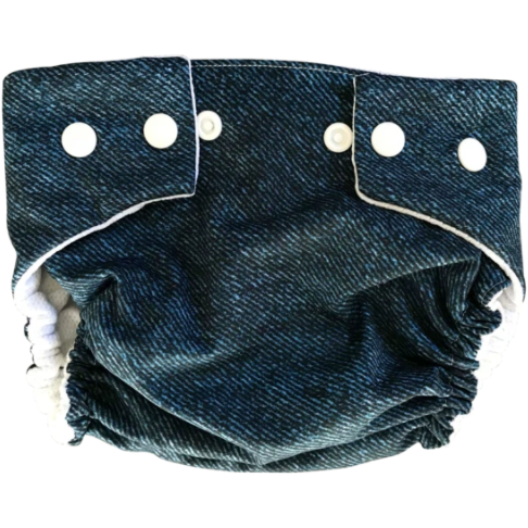Li'l Daks Signature Denim Swim Nappy - Small-LI'L DAKS-Anchor Chief