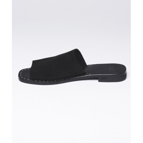One Teaspoon Florence Suede Slides-ONE TEASPOON-Anchor Chief
