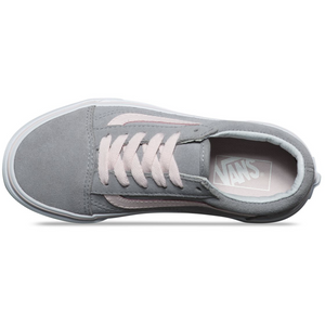Vans Old Skool Kids - Suede Alloy / Heavenly Pink