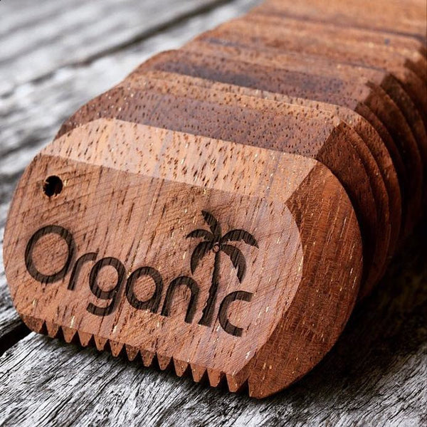 Surf Organic Wooden Wax Comb-ORGANIC-Anchor Chief