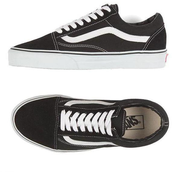 Vans Kids Old Skool - Black/White-VANS-Anchor Chief
