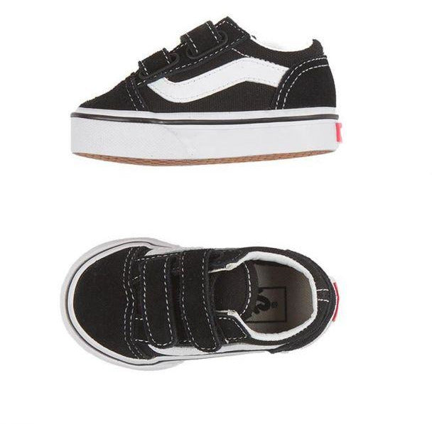 Vans Old Skool Toddler - Black-VANS-Anchor Chief