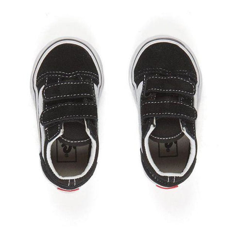 Image of Vans Old Skool Toddler - Black-VANS-Anchor Chief