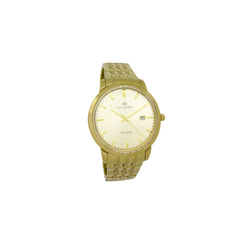 Accurist Gold Analog Watch - Ray's Jewellery
