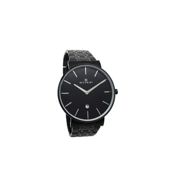 Accurist Black Analog Watch - Ray's Jewellery