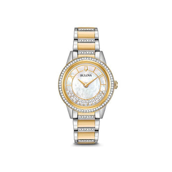 Bulova Women's Crystal TurnStyle Watch - Ray's Jewellery