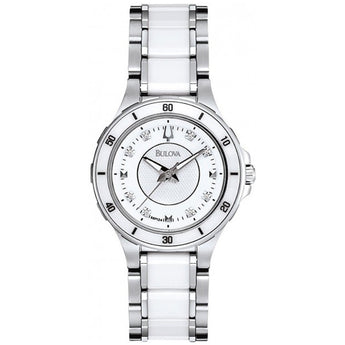 Bulova Diamond Analog Watch - Ray's Jewellery
