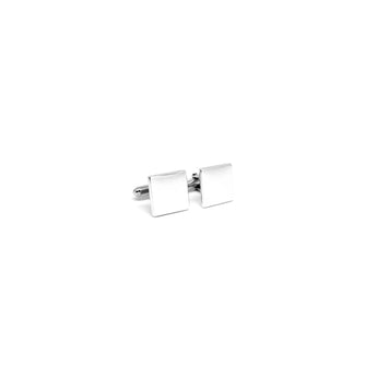 Plain Square Cufflinks - Ray's Jewellery