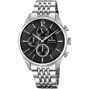 Festina Timeless Chronograph Watch - Ray's Jewellery