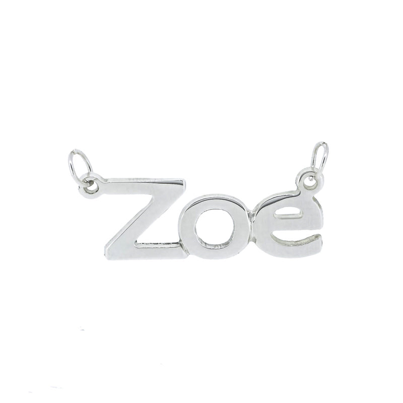 Reference Sans Serif Sterling Silver - Ray's Jewellery