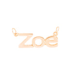 Reference Sans Serif Rose Gold Plated - Ray's Jewellery