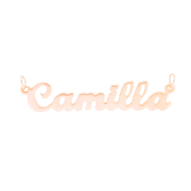 Script MT Bold Rose Gold Plated - Ray's Jewellery