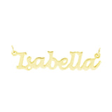 Lucida Handwriting Gold Plated