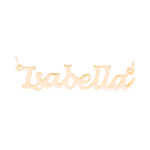 Lucida Handwriting Rose Gold Plated - Ray's Jewellery