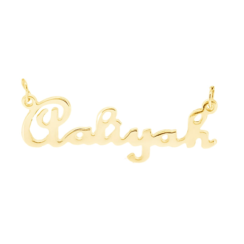 French Script MT 18kt Gold - Ray's Jewellery
