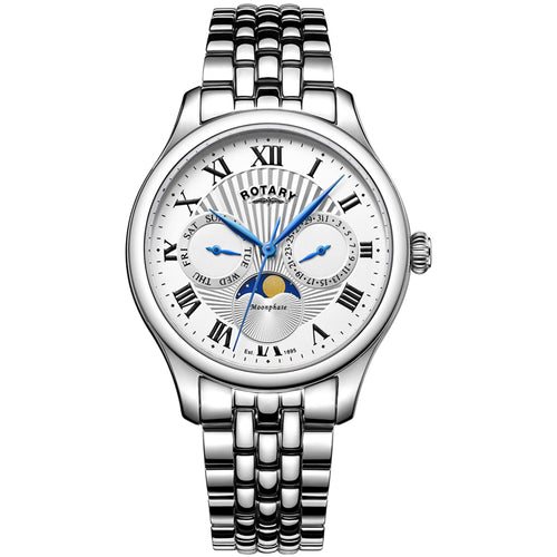 Rotary Men's Moonphase Watch - Ray's Jewellery