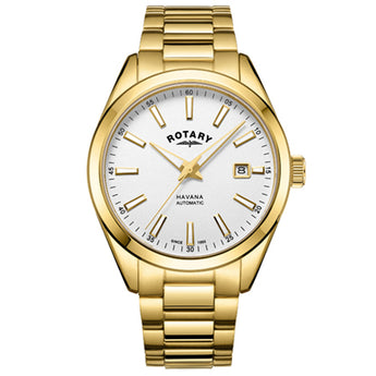 Rotary Men's Havana Automatic Watch - Ray's Jewellery