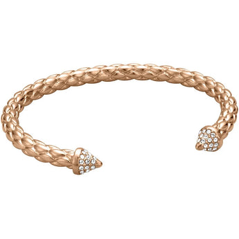 Just Cavalli Reptile Crescent Bangle - Ray's Jewellery