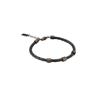 Just Cavalli Men's Leather Bracelet - Ray's Jewellery