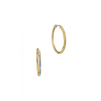 Just Cavalli Gold Hoop Earrings - Ray's Jewellery
