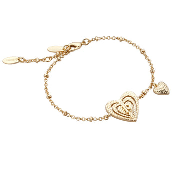 Just Cavalli Jaded Heart Bracelet - Ray's Jewellery