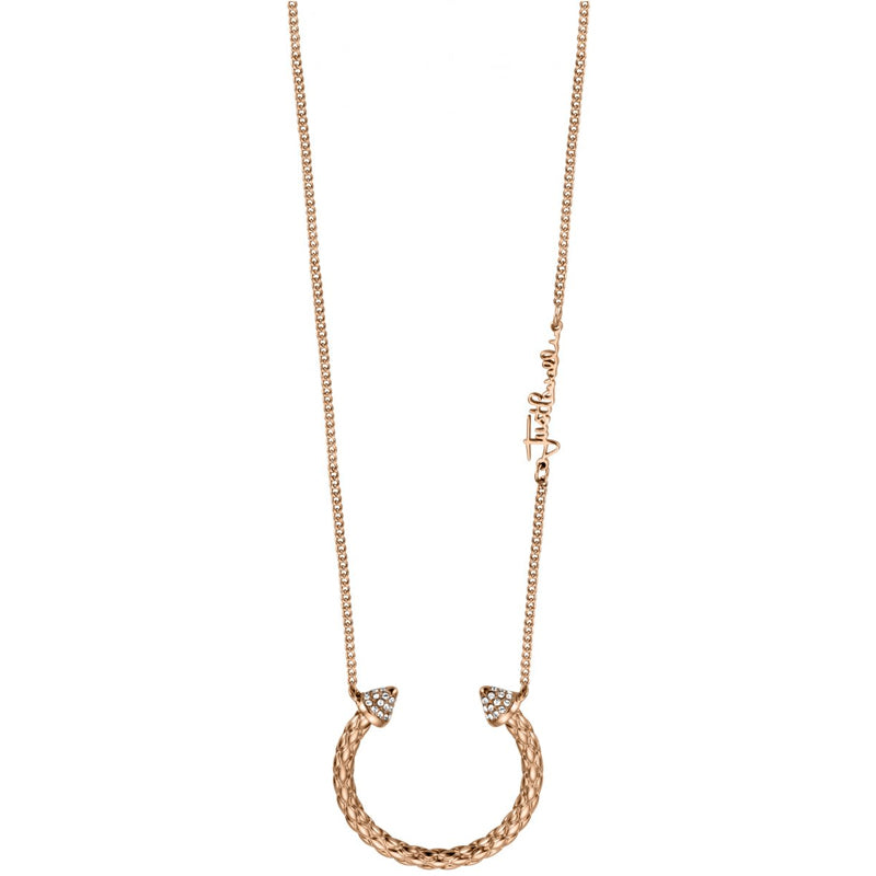 Just Cavalli Repitile Crecent Neklcace - Ray's Jewellery