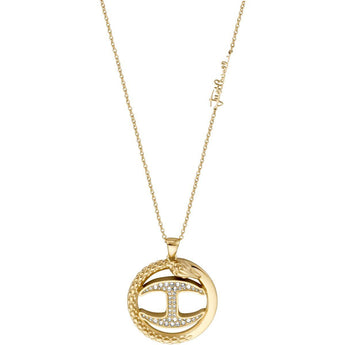 Just Cavalli Snake Logo Necklace