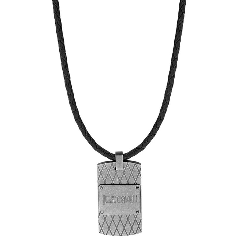 Just Cavalli Urban Black Necklace - Ray's Jewellery