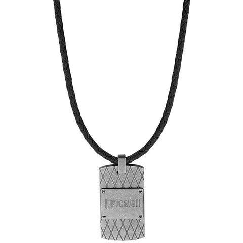 Just Cavalli Urban Black Necklace
