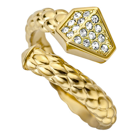 Just Cavalli Snake Ring - Ray's Jewellery