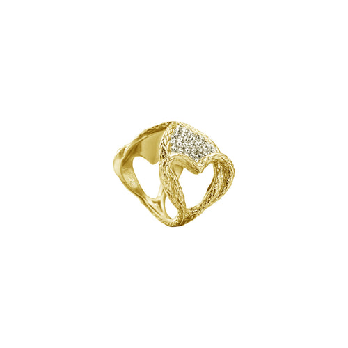 Just Cavalli Women's Gold Ring - Ray's Jewellery